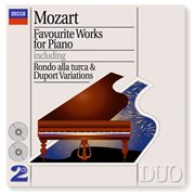 Mozart: favourite works for piano cover image
