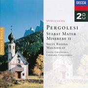 Pergolesi: stabat mater; miserere etc cover image