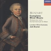Mozart: complete wind music cover image