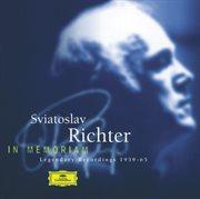 Sviatoslav richter - in memoriam cover image