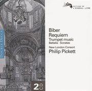 Biber: requiem, etc./schmelzer:trumpet music cover image