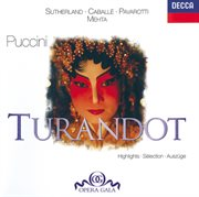 Puccini: turandot - highlights cover image