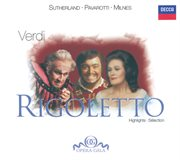 Verdi: rigoletto - highlights cover image