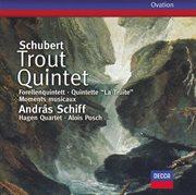 Schubert: trout quintet; 6 moments musicaux cover image