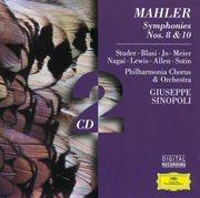 Mahler: symphonies nos. 10 & 8 cover image