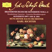 Bach: Brandenburg Concertos Nos.1-3; Concertos Bwv 1055 & 1064 (cd 9)