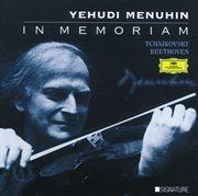 Yehudi menuhin - in memoriam cover image