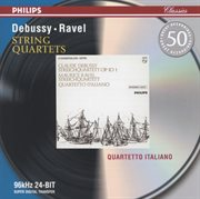 Debussy: string quartet in g minor / ravel: string quartet in f cover image