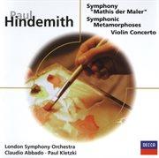 Hindemith: Violin Concerto/mathis Der Maler/symphonic Metamorphoses