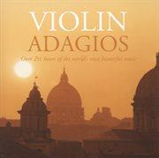 Violin adagios cover image