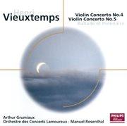 Vieuxtemps: violin concertos nos.4 & 5 etc cover image