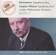 Rachmaninov: Symphony No.3 / Vaughan Williams: Symphony No.8