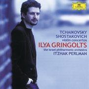 Tchaikovsky / shostakovich: violin concertos cover image