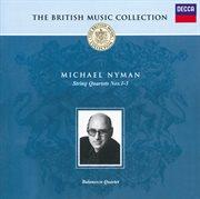 Nyman: string quartets nos.1-3 cover image