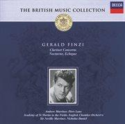 Finzi: Clarinet Concerto/nocturne/eclogue