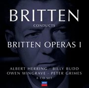 Britten conducts britten: opera vol.1 (8 cds) cover image