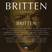 Britten conducts britten vol.4 cover image