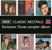 Classic recitals (sampler album) cover image