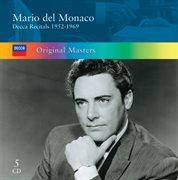 Mario del monaco: decca recitals 1952-1969 cover image