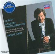 Bach: goldberg variations cover image