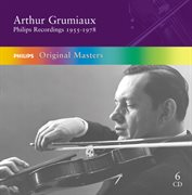 Arthur grumiaux - philips recordings 1955-1977 (6 cds) cover image