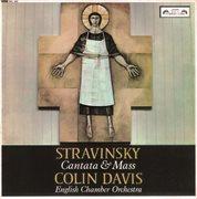 Stravinsky: cantata & mass cover image