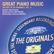 Great piano performances: the best of dg originals cover image