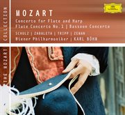 Mozart: concertos for flute, flute and harp, bassoon cover image