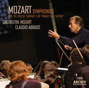 "Mozart: Symphonies Nos. 29, K.201; 33, K.319; 35, K.385 ""haffner""; 38, K.504 ""prague""; 41, K.551 ""ju"