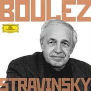 Boulez conducts stravinsky cover image