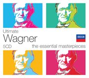 Ultimate wagner (5 cds) cover image