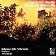 Tchaikovsky & Mendelssohn violin concertos cover image
