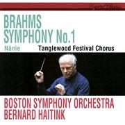 Brahms: symphony no. 1; nänie cover image
