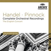 Handel: complete orchestral recordings cover image