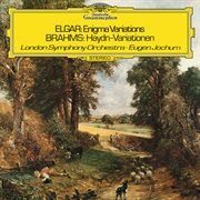 """Elgar: variations on an original theme, op. 36 """"enigma"""" / brahms: variations on a theme by haydn, op cover image"""