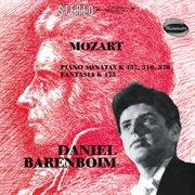 Mozart: fantasia in c minor, k.475; piano sonata no.14 in c minor, k.457; piano sonata no.8 in a cover image