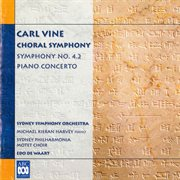 Carl vine: choral symphony cover image