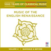 Music of the english renaissance cover image