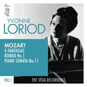 "Mozart: 4 fantasias, rondo no.1, piano sonata no.11 ""alla turca"" cover image"