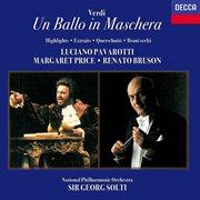 Verdi: un ballo in maschera (highlights) cover image
