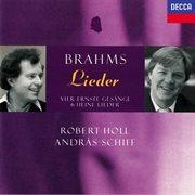 Brahms Lieder cover image