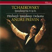 Tchaikovsky: symphony no. 4 cover image