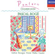 Poulenc chamber music cover image