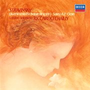 Stravinsky: divertimento; suites 1 & cover image