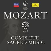 Mozart 225 - complete sacred music cover image