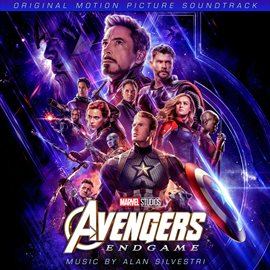 Avengers: Endgame Soundtrack, book cover