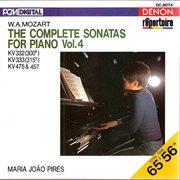 Mozart: the complete sonatas for piano, vol. 4 cover image