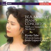 Mozart: piano concertos nos. 9 & 24 cover image