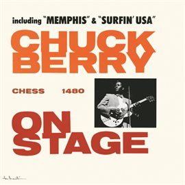 Cover image for Chuck Berry On Stage