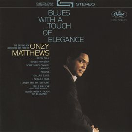 Cover image for Blues With A Touch Of Elegance
